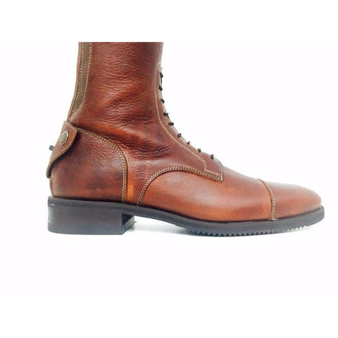 Image of Secchiari 200W Cotto Ingrassato Riding Boot with Laces