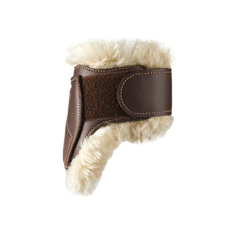Image of Sheepskin Leather Fetlock Boots Velcro