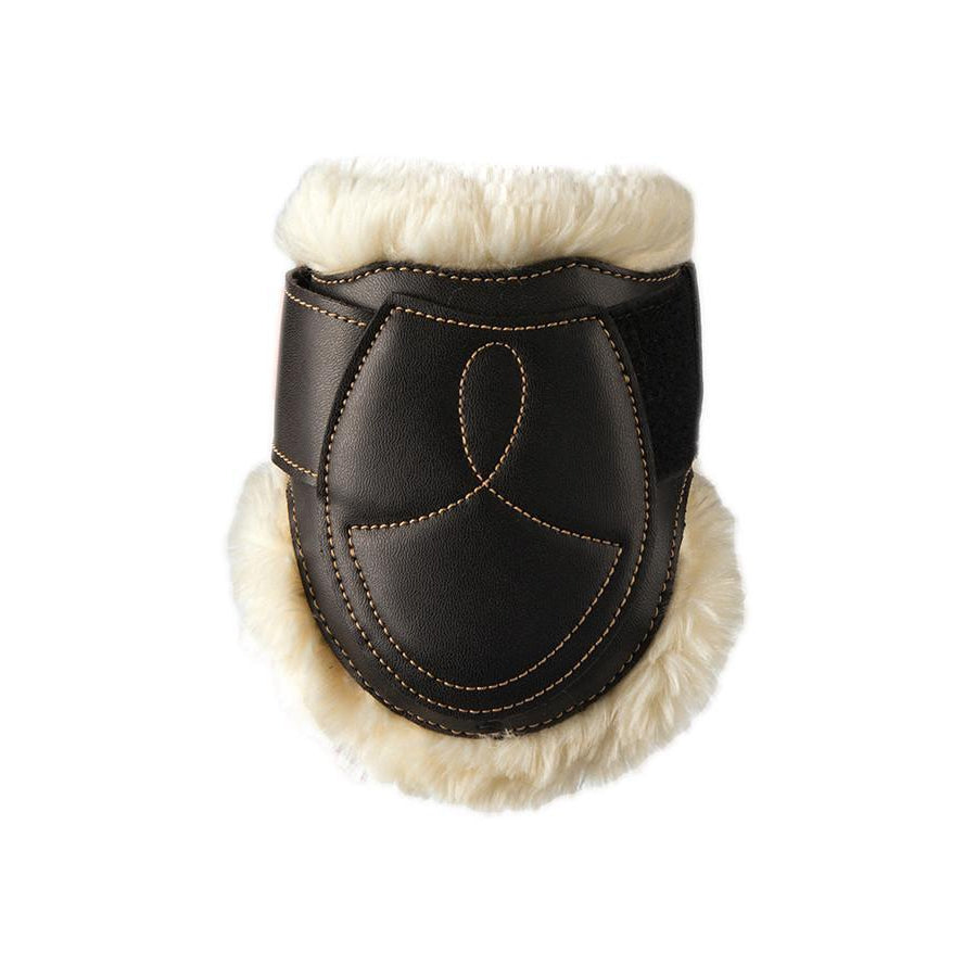 Sheepskin Leather Fetlock Boots Velcro