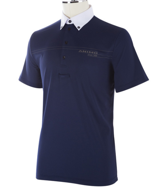 Animo SS20 Mens ARGOM Short Sleeve Competition Polo
