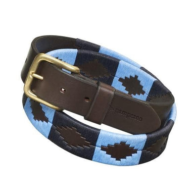 Pampeano 'Azules' Argentinian Polo Belt