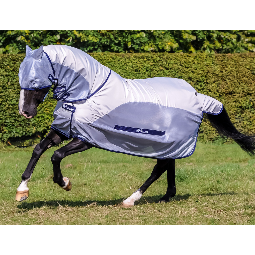 Bucas Buzz Off Rain Full Neck Rug