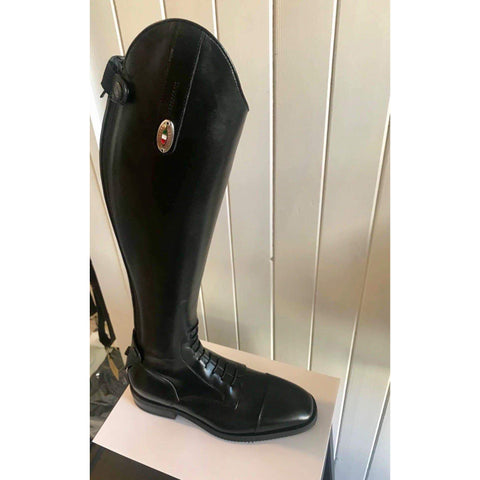 Secchiari Dafne Classic Elastic Riding Boot with Laces
