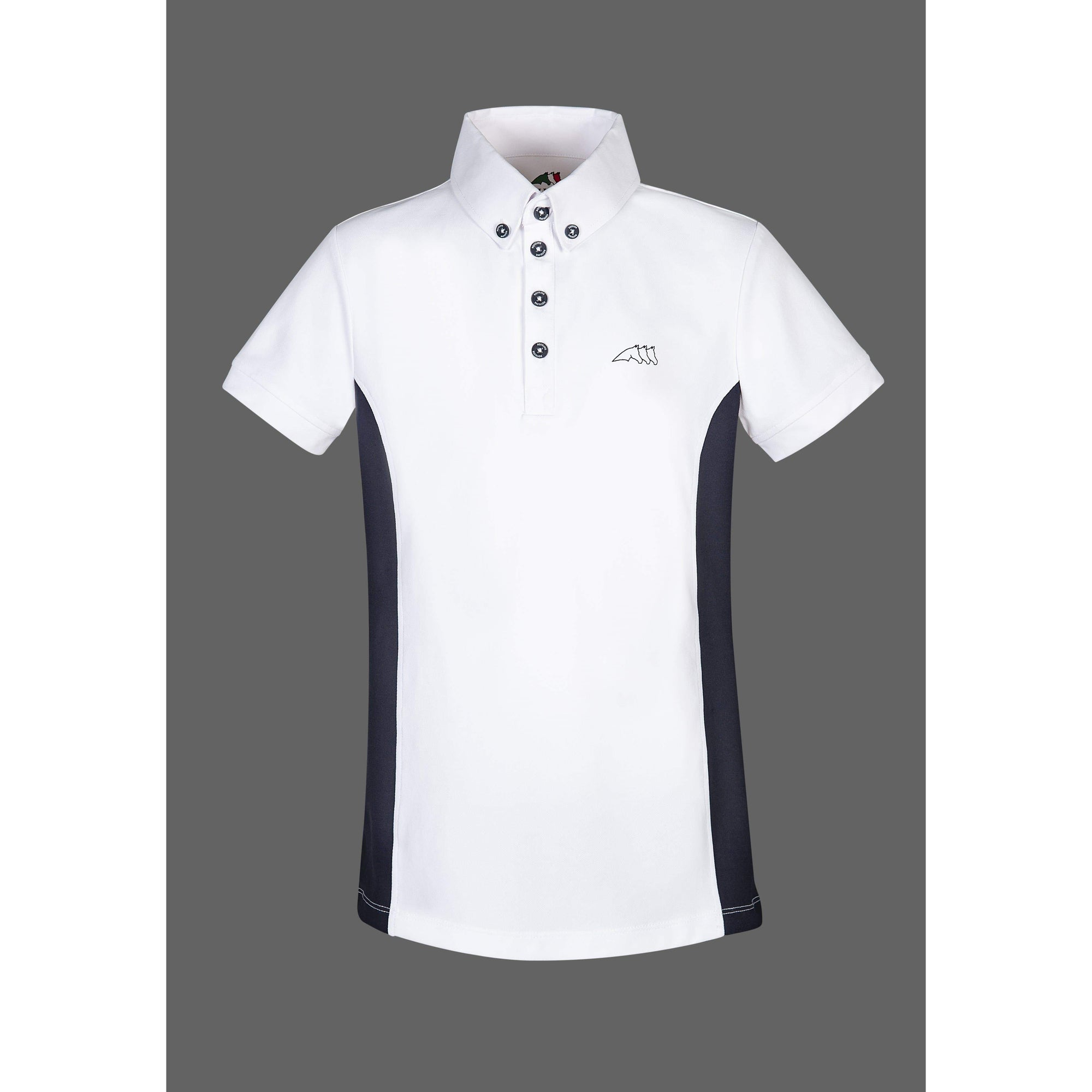 Equiline Dark Boys Competition Polo