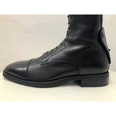 Image of Secchiari OMERO Classic Elastic Riding Boot with Laces