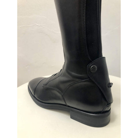 Secchiari OMERO Classic Elastic Riding Boot with Laces