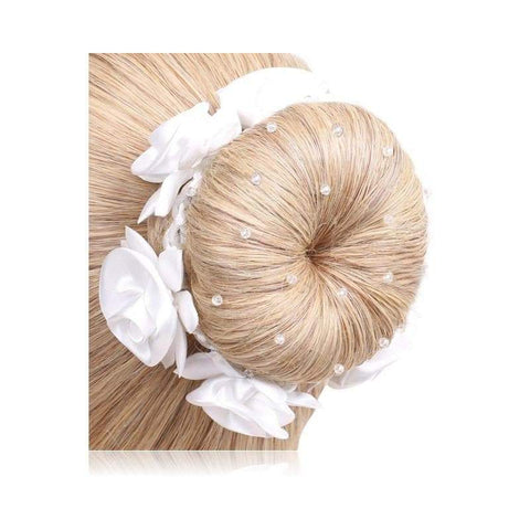 SD-Design Hair Net with Crystals