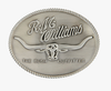 RM Williams Logo Buckle