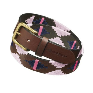 Pampeano 'Rosa' Argentinian Polo Belt