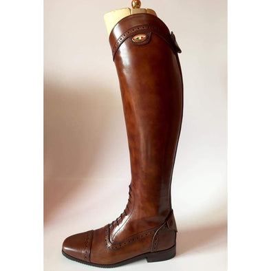 Secchiari Bespoke 028 Ladies Antique Brown Riding Boot