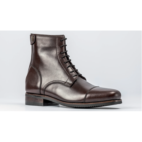 Secchiari Leather CLASSIC Ankle Boots with Laces