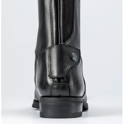 Image of Secchiari 100EL Mens Classic Elastic Buffalo Leather Riding Boot