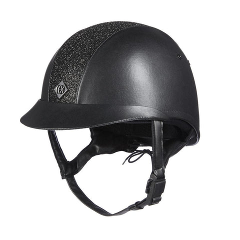 Charles Owen eLumen8 Leather Look Helmet
