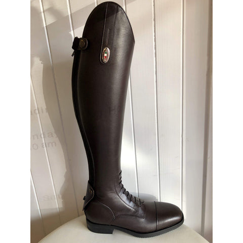 Image of Secchiari Dafne Classic Elastic Riding Boot with Laces