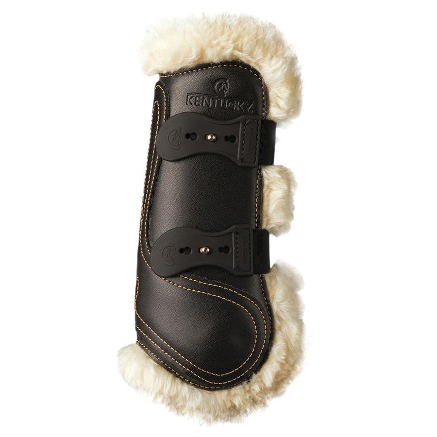 Sheepskin Leather Tendon Elastic Boots