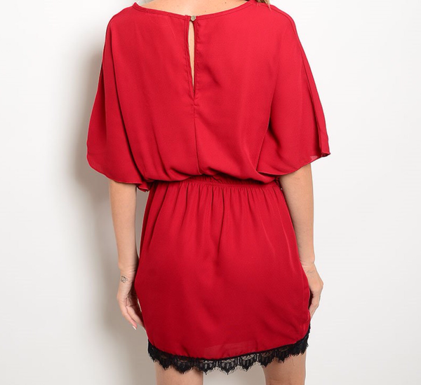 'Red Wine' Dress