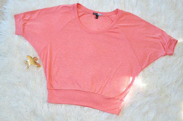 'So Sweet' Crop Top: Pink