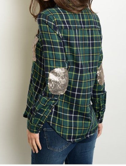 'Southern Chic' Plaid Top