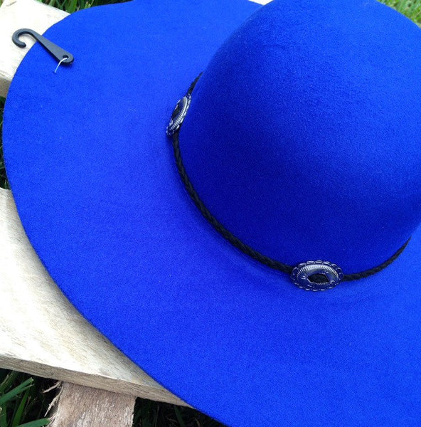 'Wanderer' Hat-Royal Blue