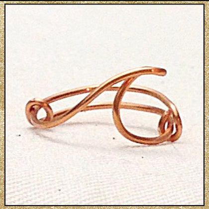 Custom Wire Wave Ring (MADE TO ORDER)
