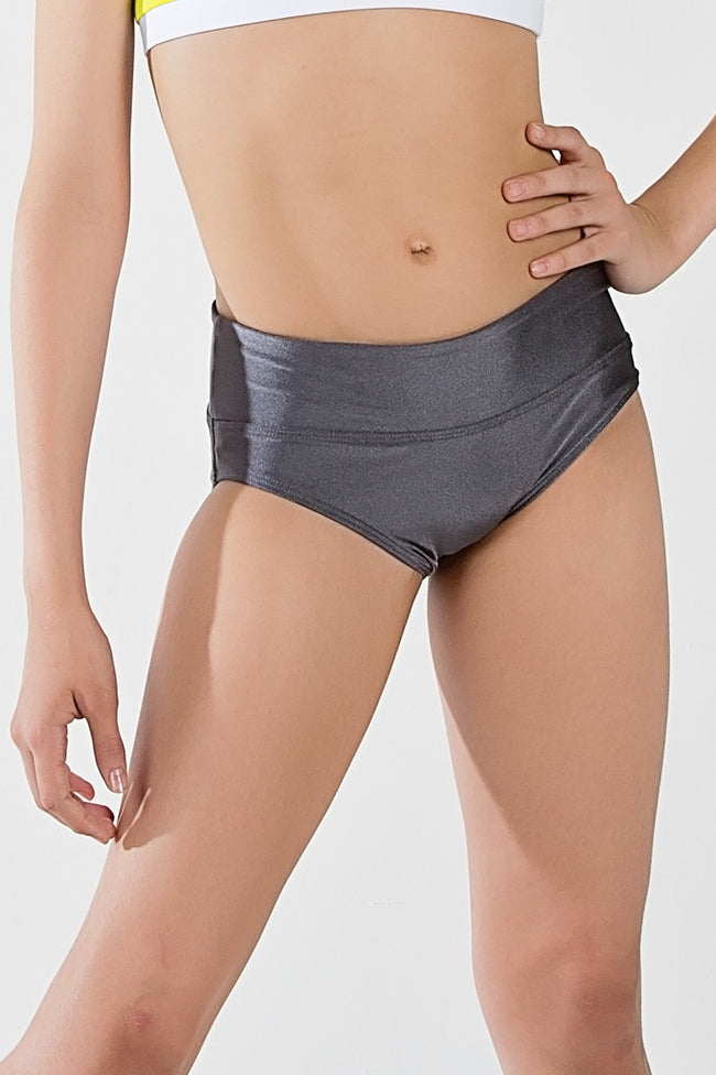 ilogear - high quality dancewear - Isa Briefs (Charcoal)