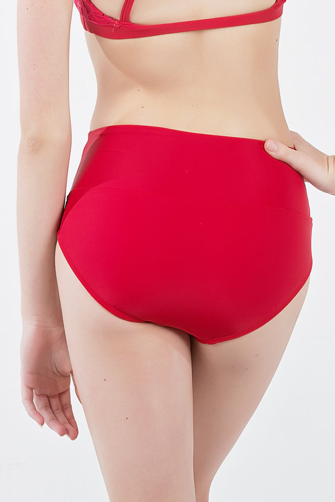 Isa Dance Briefs (Red) - Dancewear - Ilogear