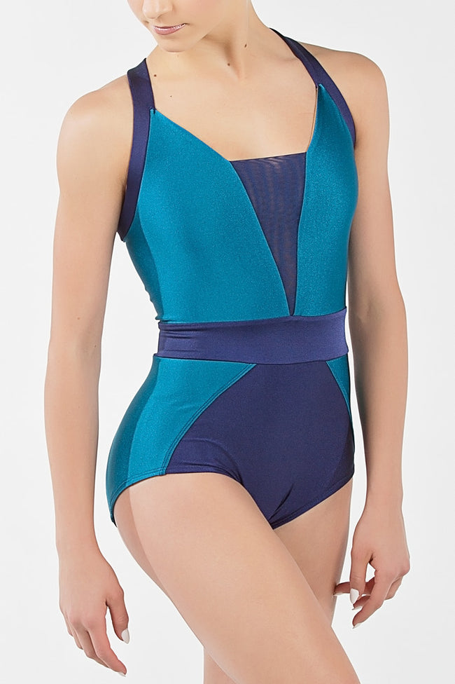 ilogear - high quality dancewear - Leila Leotard (Teal)