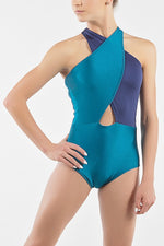 Madison Leotard (Teal) - Dancewear