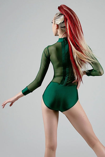 Val Leotard - Emerald/Emerald