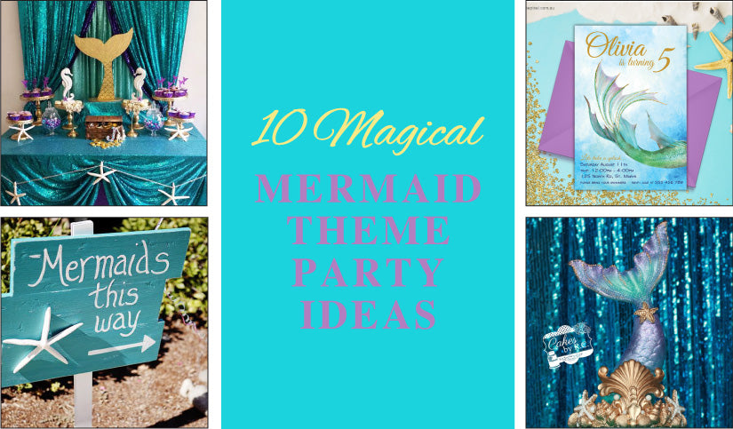 Lets take a Splash! - Magical Mermaid Party Ideas