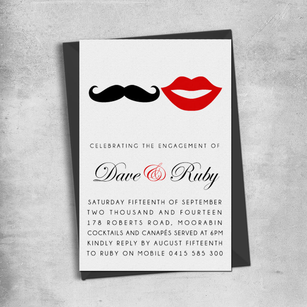 Online Engagement Party Invitations