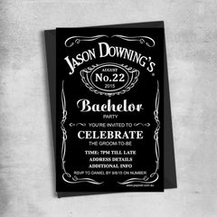 Bachelor Party Invitations & Bucks Night Invitations