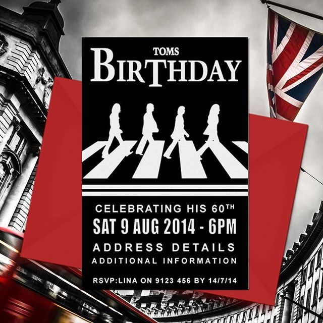 60TH BIRTHDAY PARTY INVITATIONS ONLINE