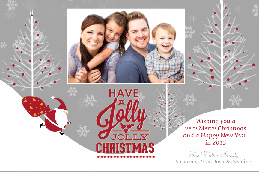 Christmas photo card,  holiday greeting cards photo,