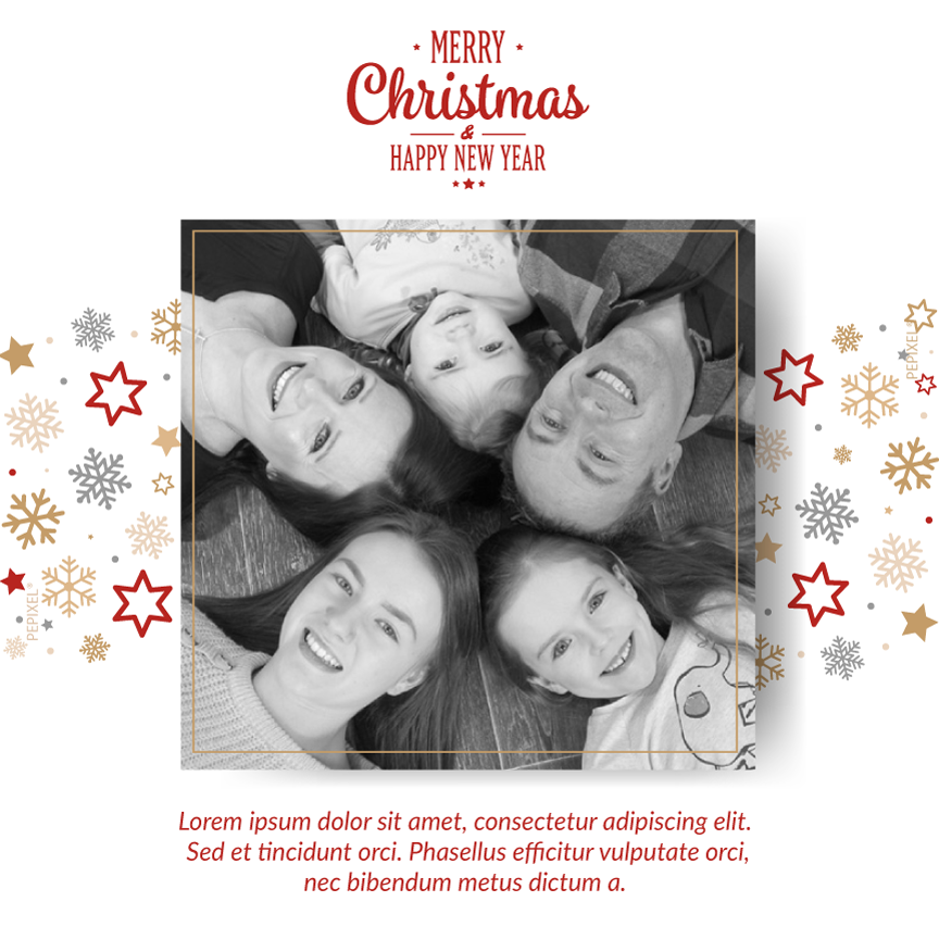 Christmas photo card,  holiday greeting cards photo, white photo holiday Christmas greeting card,