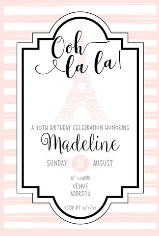 Paris birthday invitations, Paris birthday party supplies, Paris invitation,  party invitation,  party invitations, Paris theme party,  birthday invitation, birthday invitation card, birthday invitation cards, birthday invitation template, birthday invitation templates, birthday invitations for girls, birthday invite, birthday invites, birthday party invitation, birthday party invitations, birthday party invites, cheap invitation template,