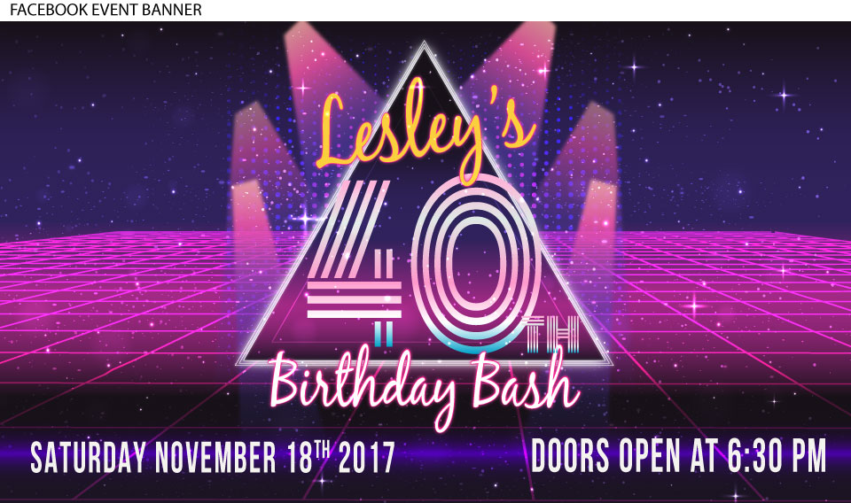 80's birthday party invitation, 80's theme birthday party invitation, facebook event image