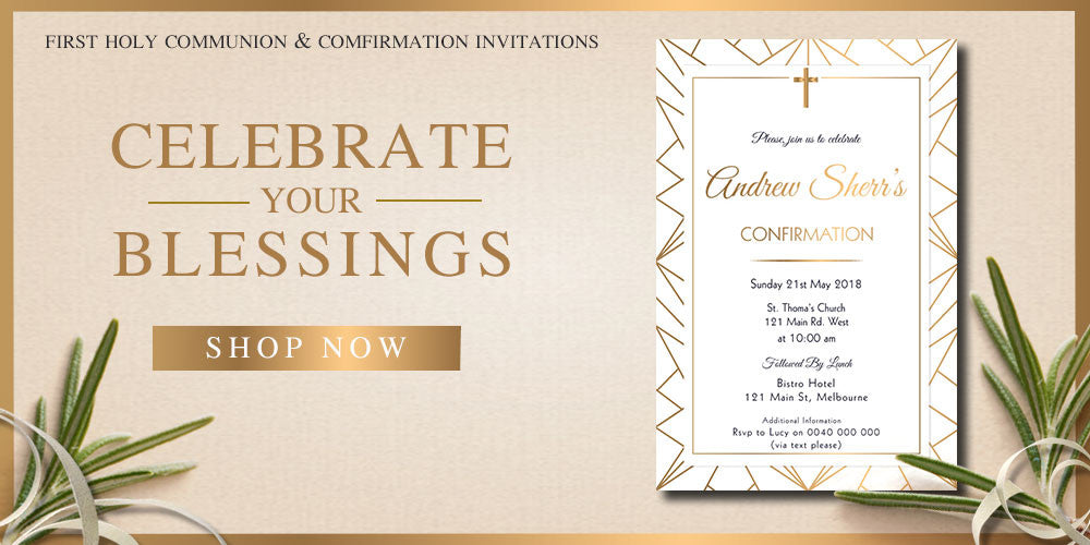 first holy communion, communion invitations, confirmation invitations