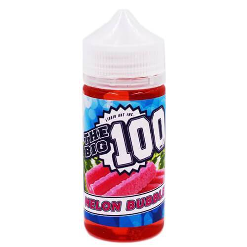 The Big 100 eJuice - Melon Bubble