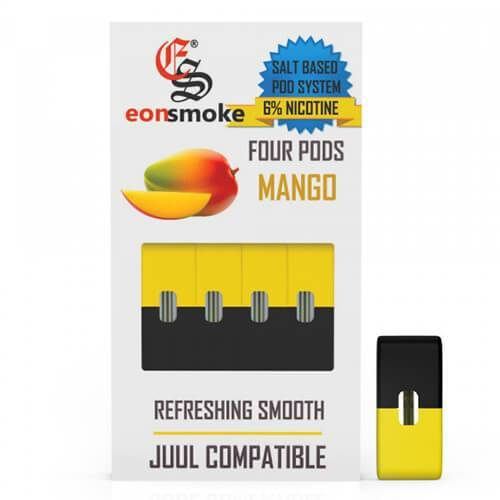 EON Pods - JUUL Compatible Refill Pod - Mango (4 Pack) (NZ STOCK)