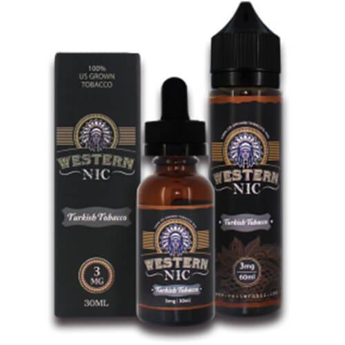 Western Nic eLiquids - Turkish Tobacco