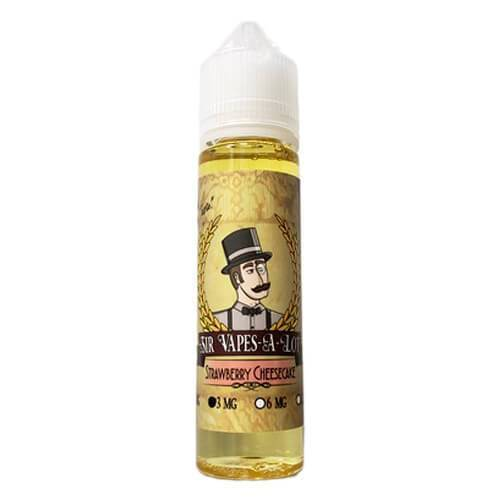 Sir Vapes-A-Lot eLiquid - Strawberry Cheesecake