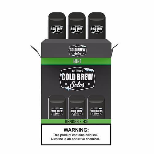 Nitro's Cold Brew Solos - Disposable Device - Mint