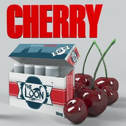 The Loon eCig - Reload Shot - Cherry (5 Pack)