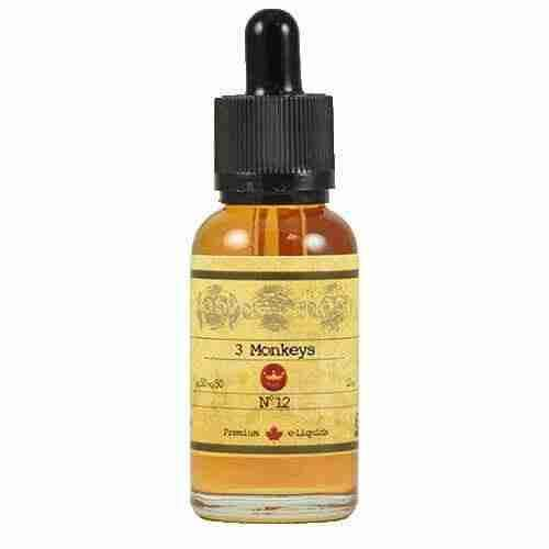 3 Monkeys Premium E-Liquids - No 12