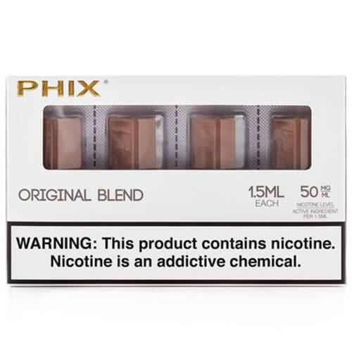 PHIX by MLV - Original Tobacco (4 Pack)