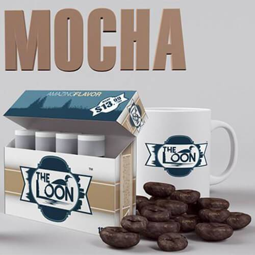 The Loon eCig - Reload Shot - Mocha (5 Pack)