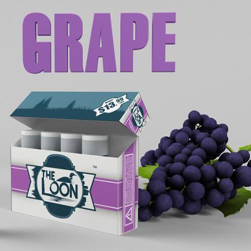 The Loon eCig - Reload Shot - Grape (5 Pack)