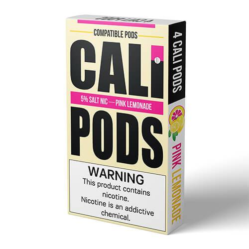 Cali Pods - Compatible Flavor Pods - Pink Lemonade (4 Pack)