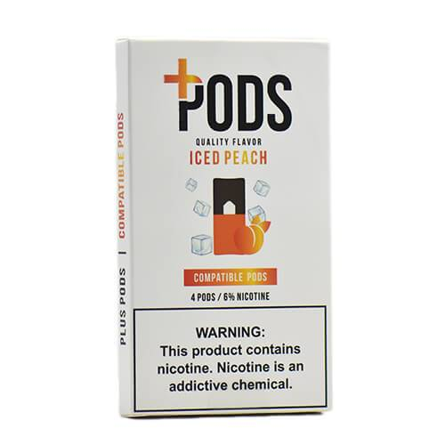 Plus Pods - Compatible Flavor Pods - Iced Peach (NZ-STOCK)